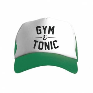 Kid's Trucker Hat Gym and tonic