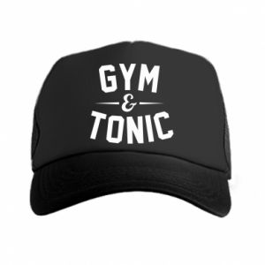 Czapka trucker Gym and tonic