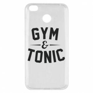 Xiaomi Redmi 4X Case Gym and tonic