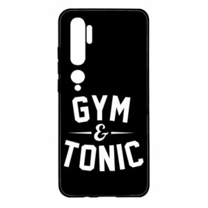 Xiaomi Mi Note 10 Case Gym and tonic