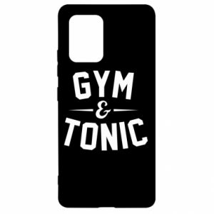 Samsung S10 Lite Case Gym and tonic