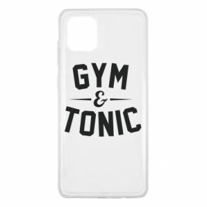 Samsung Note 10 Lite Case Gym and tonic