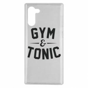 Samsung Note 10 Case Gym and tonic