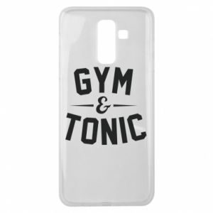 Samsung J8 2018 Case Gym and tonic