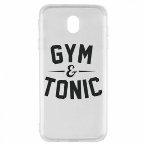 Samsung J7 2017 Case Gym and tonic