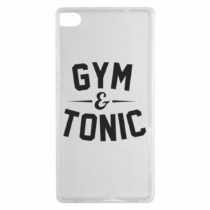 Huawei P8 Case Gym and tonic