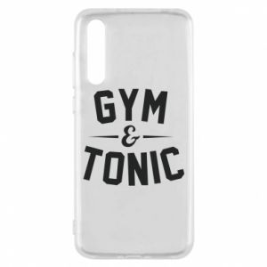 Huawei P20 Pro Case Gym and tonic