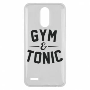 Lg K10 2017 Case Gym and tonic