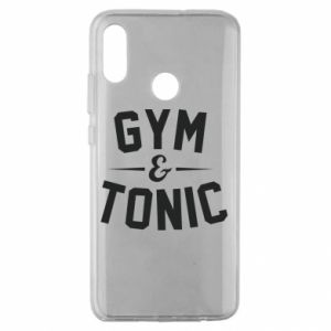 Huawei Honor 10 Lite Case Gym and tonic