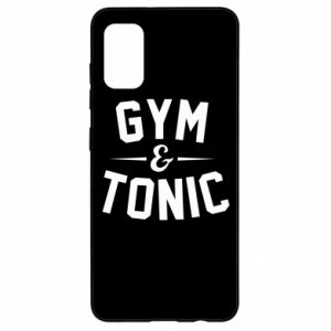 Samsung A41 Case Gym and tonic
