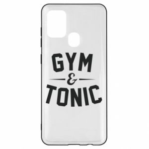 Samsung A21s Case Gym and tonic