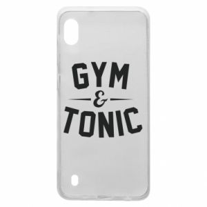Samsung A10 Case Gym and tonic