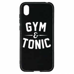 Huawei Y5 2019 Case Gym and tonic