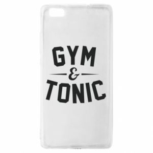 Huawei P8 Lite Case Gym and tonic