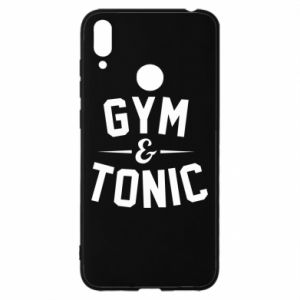 Huawei Y7 2019 Case Gym and tonic