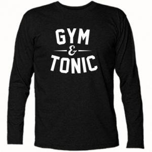 Koszulka z długim rękawem Gym and tonic