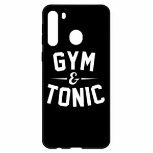 Samsung A21 Case Gym and tonic