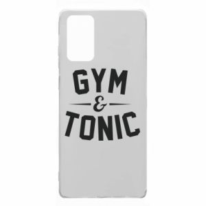 Samsung Note 20 Case Gym and tonic