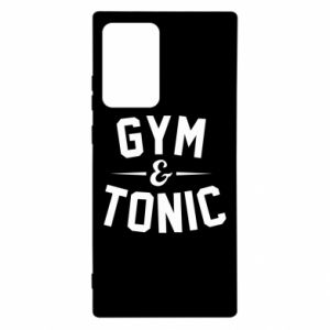 Samsung Note 20 Ultra Case Gym and tonic
