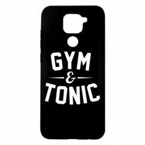 Xiaomi Redmi Note 9 / Redmi 10X case % print% Gym and tonic