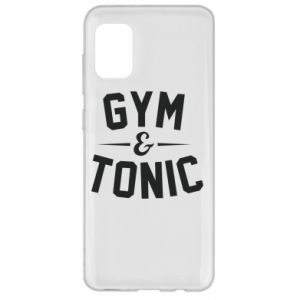 Samsung A31 Case Gym and tonic
