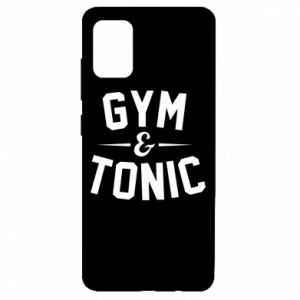 Samsung A51 Case Gym and tonic