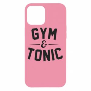 iPhone 12 Pro Max Case Gym and tonic