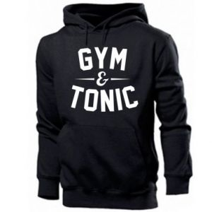 Men's hoodie Gym and tonic