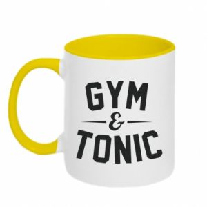 Kubek dwukolorowy Gym and tonic