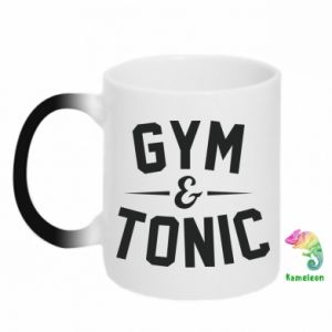 Kubek-kameleon Gym and tonic
