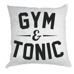 Poduszka Gym and tonic