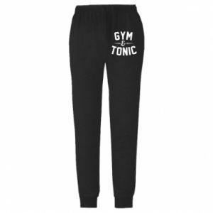 Męskie spodnie lekkie Gym and tonic