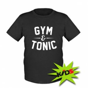 Kids T-shirt Gym and tonic