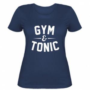Women's t-shirt Gym and tonic