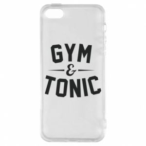 Etui na iPhone 5/5S/SE Gym and tonic