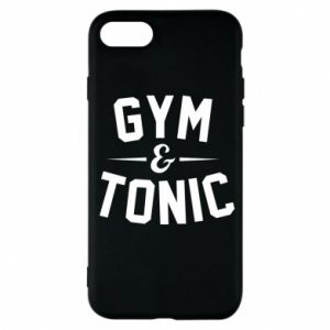 Etui na iPhone 7 Gym and tonic