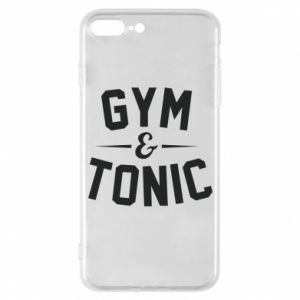 Etui na iPhone 7 Plus Gym and tonic