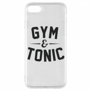 Etui na iPhone 8 Gym and tonic
