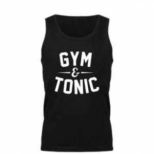 Męska koszulka Gym and tonic