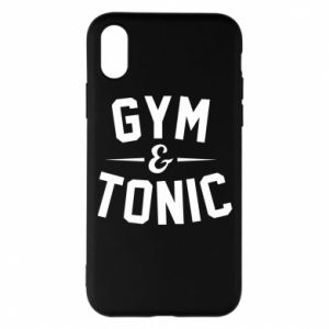 Etui na iPhone X/Xs Gym and tonic