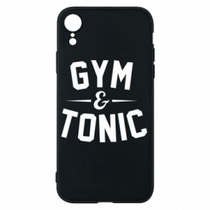 Etui na iPhone XR Gym and tonic