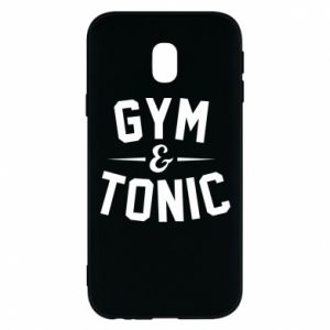 Etui na Samsung J3 2017 Gym and tonic