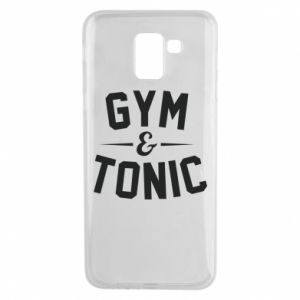 Etui na Samsung J6 Gym and tonic