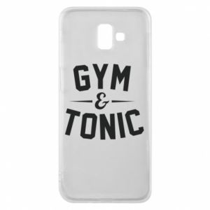 Etui na Samsung J6 Plus 2018 Gym and tonic