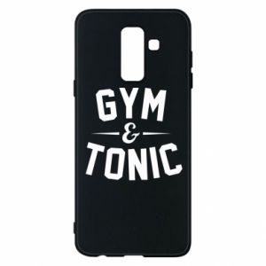 Etui na Samsung A6+ 2018 Gym and tonic