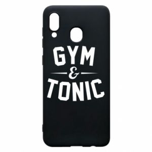 Etui na Samsung A20 Gym and tonic