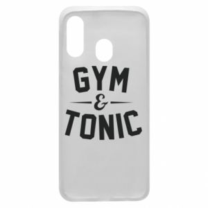 Etui na Samsung A40 Gym and tonic