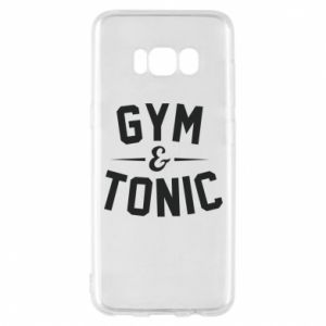 Etui na Samsung S8 Gym and tonic