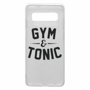 Etui na Samsung S10 Gym and tonic