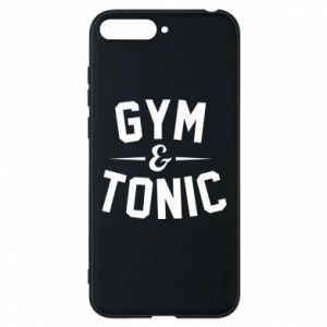Etui na Huawei Y6 2018 Gym and tonic